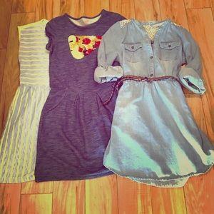 Bundle of Cute & Comfortable Girls Dresses